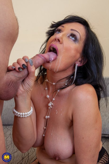 This toyboy is having the time of his life with his horny cougar