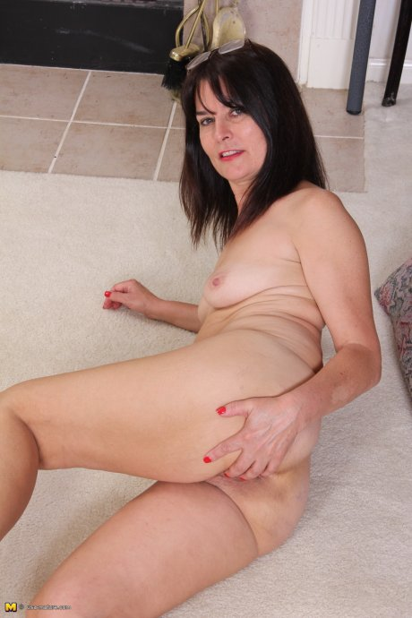 Horny American housewife getting wet