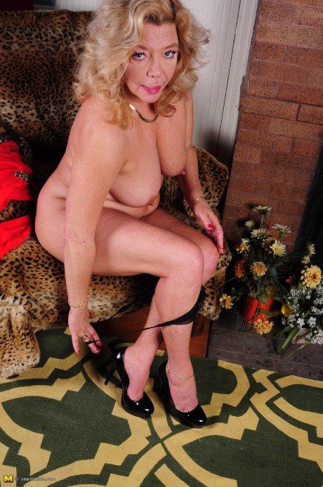 Naughty American housewife getting very naughty